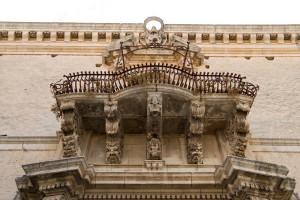 Particolare barocco , Palazzo Tommasi Rosso