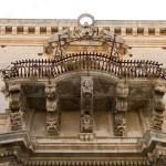 Particolare barocco Palazzo Tommasi Rosso